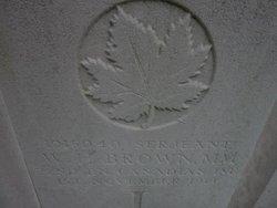 Sergeant William Herbert Brown