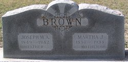 Joseph Marion Anderson Brown