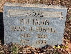 Emma J. <i>Howell</i> Pittman, II