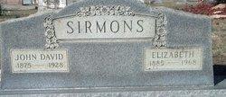Cynthia Elizabeth <i>Patterson</i> Sirmons