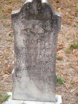 Mary <i>Watson</i> Adams