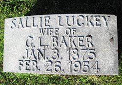 Sallie <i>Luckey</i> Baker