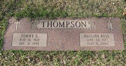 Pauline Rose <i>Spangenberg</i> Thompson