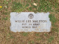 Willie Lee Walston