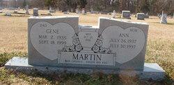 Claud Gene Martin
