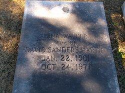 Lena <i>Walker</i> Martin