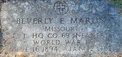 Beverly Eugene Marlin