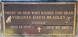 Ruth Virginia <i>Davis</i> Bradley