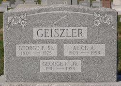 George Francis Geiszler, Sr