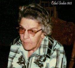 Ethel <i>Coulter</i> Scobie