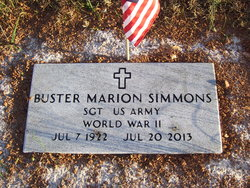 Buster Marion Simmons