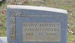 Mary <i>Mauney</i> Abrahamson