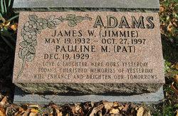 James W. Jimmie Adams