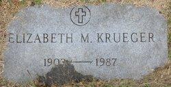 Elizabeth M Krueger