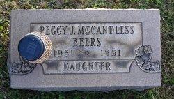 Peggy J <i>McCandless</i> Beers