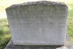 Joseph Butterworth Pop Matthews