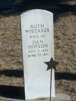 Ruth <i>Whitaker</i> Hopson