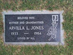 Arvilla Leona Tex <i>Berry</i> Jones