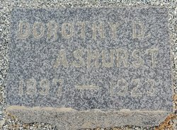 Dorothy D. <i>Robinson</i> Ashurst