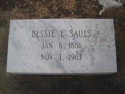 Bessie Florence <i>Eubanks</i> Sauls