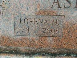 Lorena May <i>Cross</i> Asher