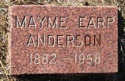 Mayme Estelle <i>Earp</i> Anderson