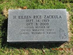 Harryette Eileen <i>Rice</i> Zackula