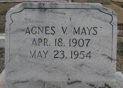 Agnes V Mays