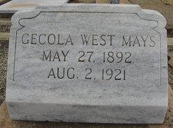 Gecola West Mays