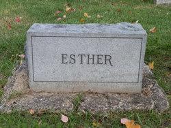 Esther E. <i>Crook</i> Sutton