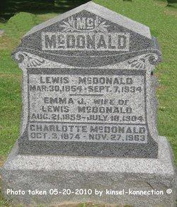 Emma J. <i>Kishler</i> McDonald