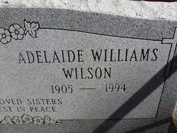 Adelaide <i>Williams</i> Wilson