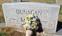 Coleman B Dunagan