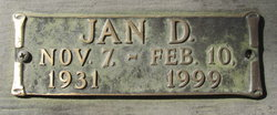 Jan D. Brown
