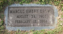 Marcus Embry Brown