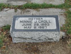 Minnie Josephine <i>Stabel</i> Croll