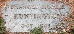 Frances Mozelle Huntington