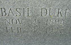 Maj Basil Duke Barr