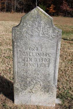 Ora Frances Gallimore