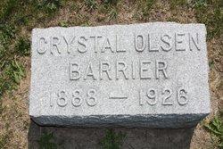 Crystal <i>Olson</i> Barrier
