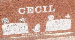 Gladys Ellen <i>Wesner</i> Cecil