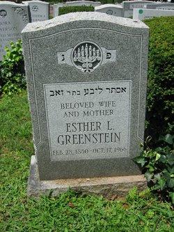 Ester Greenstein