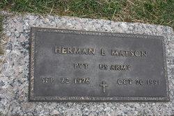 Herman L Matson