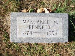 Margaret M <i>LaMar</i> Bennett