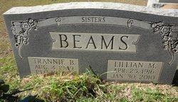 Lillian M Beams
