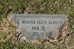 Martha Ellen Barrett