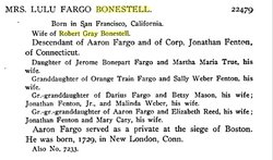 Lulu <i>Fargo</i> Bonestell
