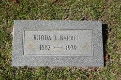 Rhoda E Barrett
