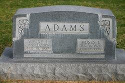 Maude Jeanette <i>Roberson</i> Adams