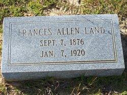 Frances <i>Allen</i> Land